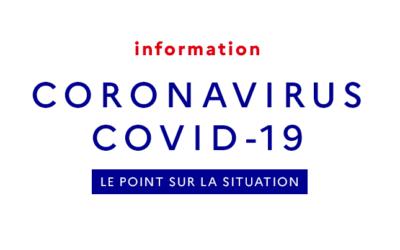COVID-19 : pour rester informés