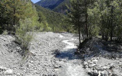 Travaux de protection contre les inondations au torrent des Acles