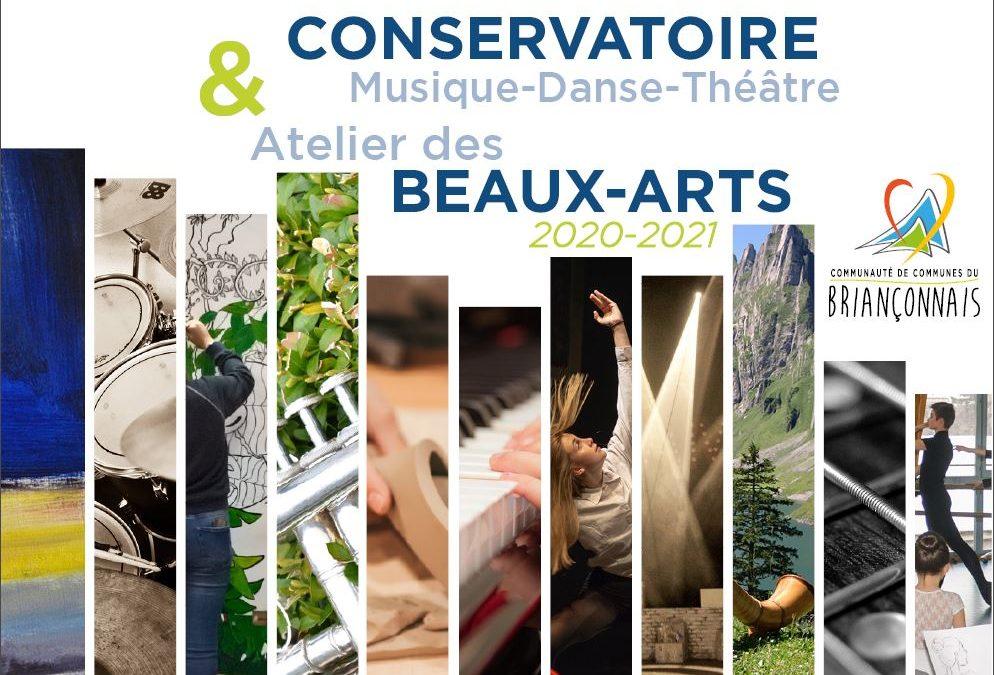 En septembre, les inscriptions au Conservatoire et à l'Atelier des Beaux-arts reprennent !