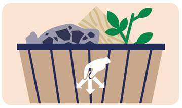 plateforme de récupération / vente des matériaux recyclés