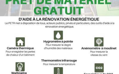 Prêt gratuit de matériel d'aide à la rénovation énergétique des bâtiments