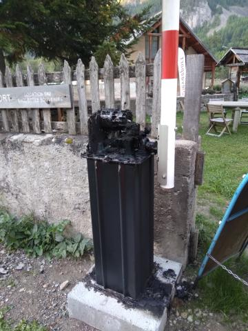 Vandalisme et vol à Névache