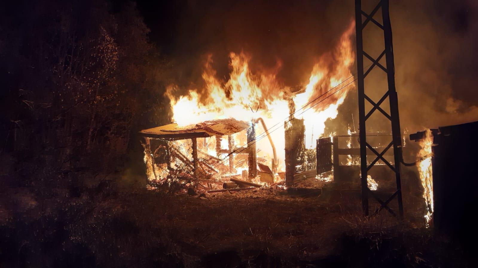 incendie téléski bois noir Névache